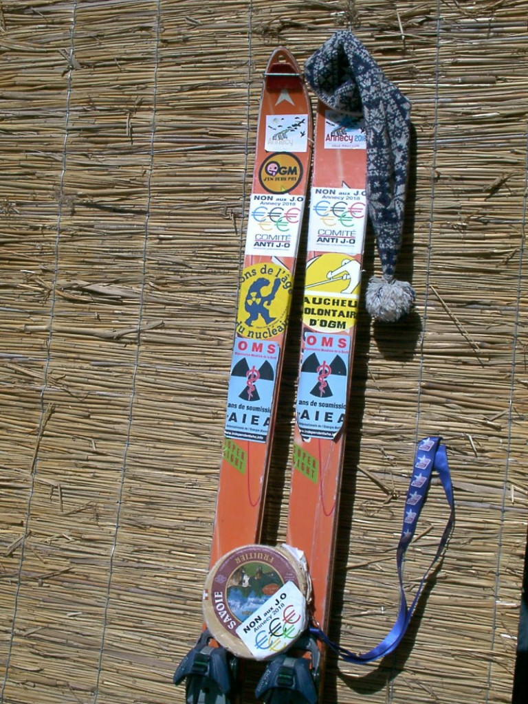 frondes et mots Sabotage ski1